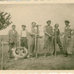 Planting of the vineyard in 1931
