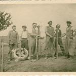 Výsadba vinohradu v roku 1931